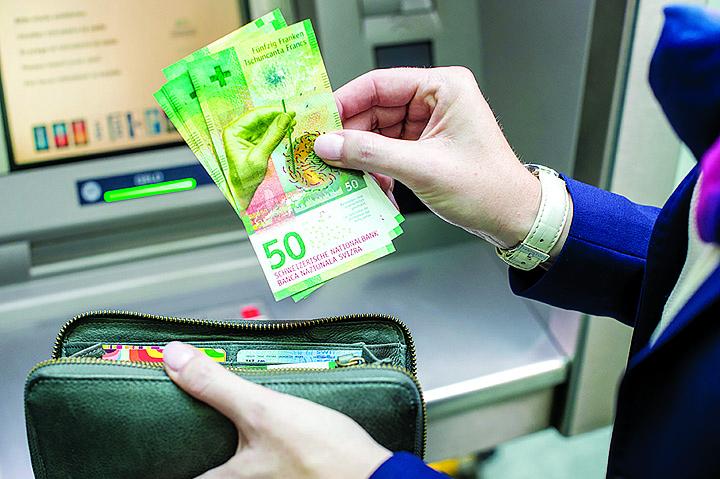 billet de banque suisse 2016