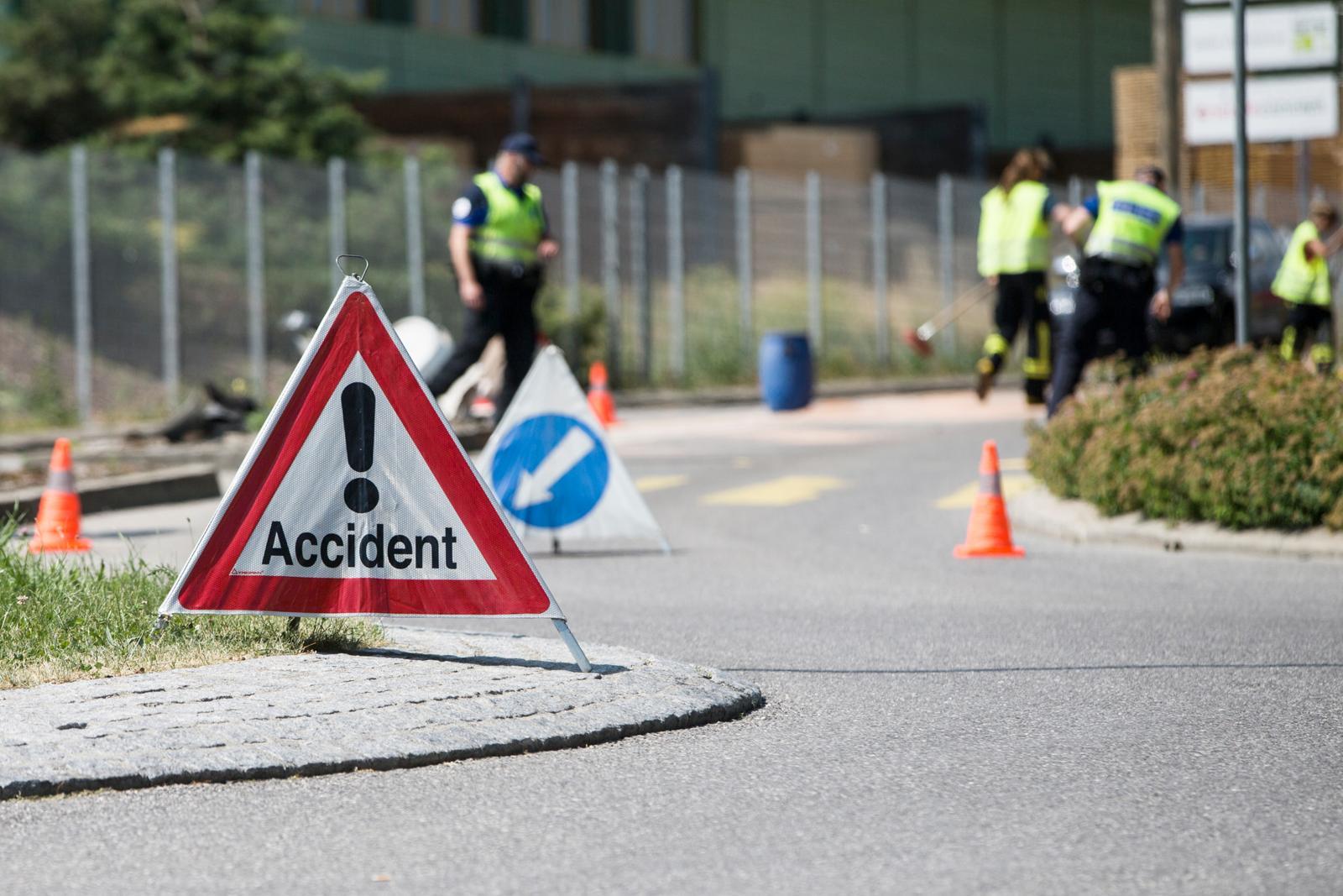 Les accidents avec piéton ont augmenté de 60%