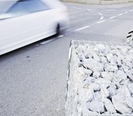 La ville envisage d'enlever des gabions