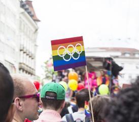 Le défilé coloré de la Pride. (photo Régine Gapany)