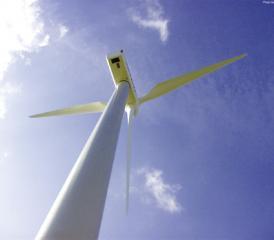 A quand la première éolienne?